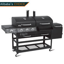 Commercial Gas Grill 4 Burners Barbecue Gas Stove