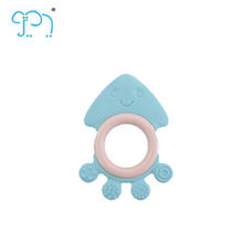 Eco-Friendly Octopus Soft Rattles For Tortoise Baby Teething Toy With OEM