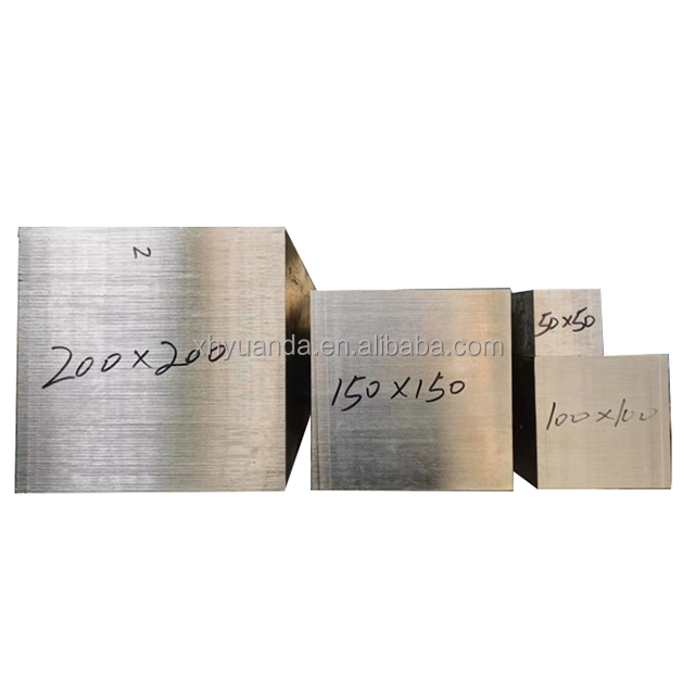 YD Cold Drawn TP304/304L Stainless Steel Square Bar 25x25mm Polished Bright/HL Surface