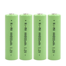 Nickel Metal Hydride Batteries 600mAh AAA 1.2V Ni-mh Rechargeable Batteries for Toys