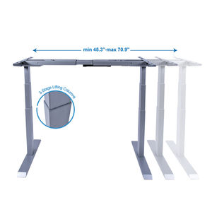 Factory wholesale electric lifting standing table desk leg auto lifting table legs