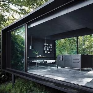 Rond Glas Verzending Container Tiny Huis Containers Huis Uitbreiden Living Container Huis Prefab