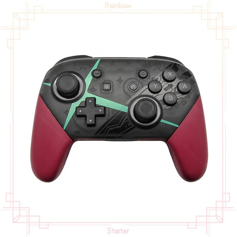 Rainbow Starter Xenoblade Chronicles 2 NS Pro Gamepad Joystick Wireless Switch NS Pro Controller For Nintendo Switch