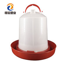 Poultry feeding equipment brolier water drinker and feeder 1.5L-10L  plastic chicken waterer