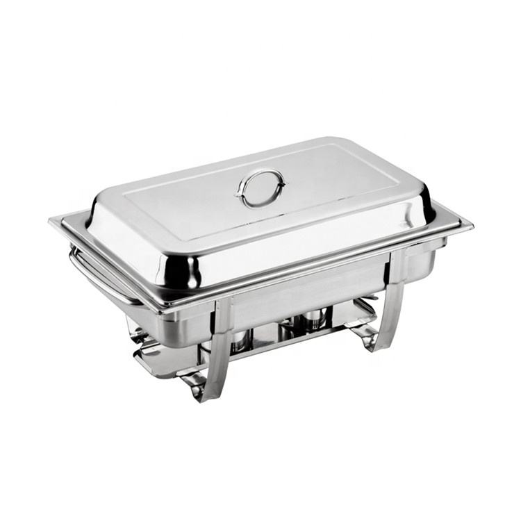 Wholesale chafing dish buffet ware serving dish chafer hotel supply food warmer for restaurant Kitchen Equipment