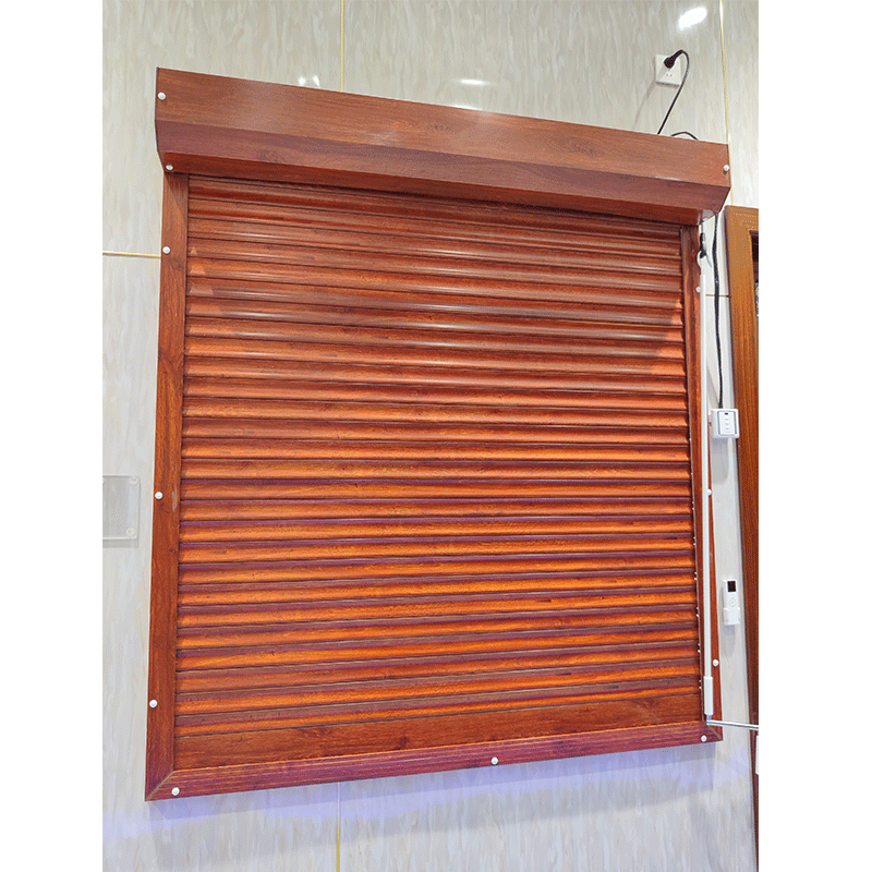 XZJ hot sale high quality Used Exterior rolling electric window shutters metal window shutters security aluminum window