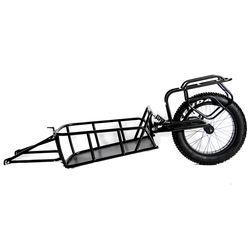Single Wheel Cargo Trailer One Wheel Bike Travel Trailer ebike hunting trailer