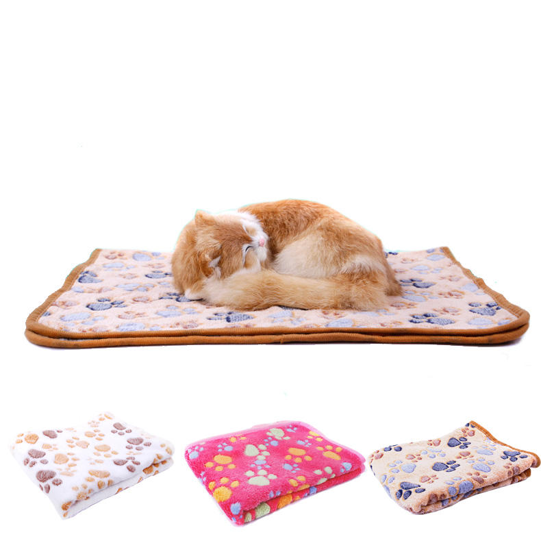 Blankets Super Soft Fluffy Premium Fleece Pet Blanket Flannel Throw for Dog Puppy Cat