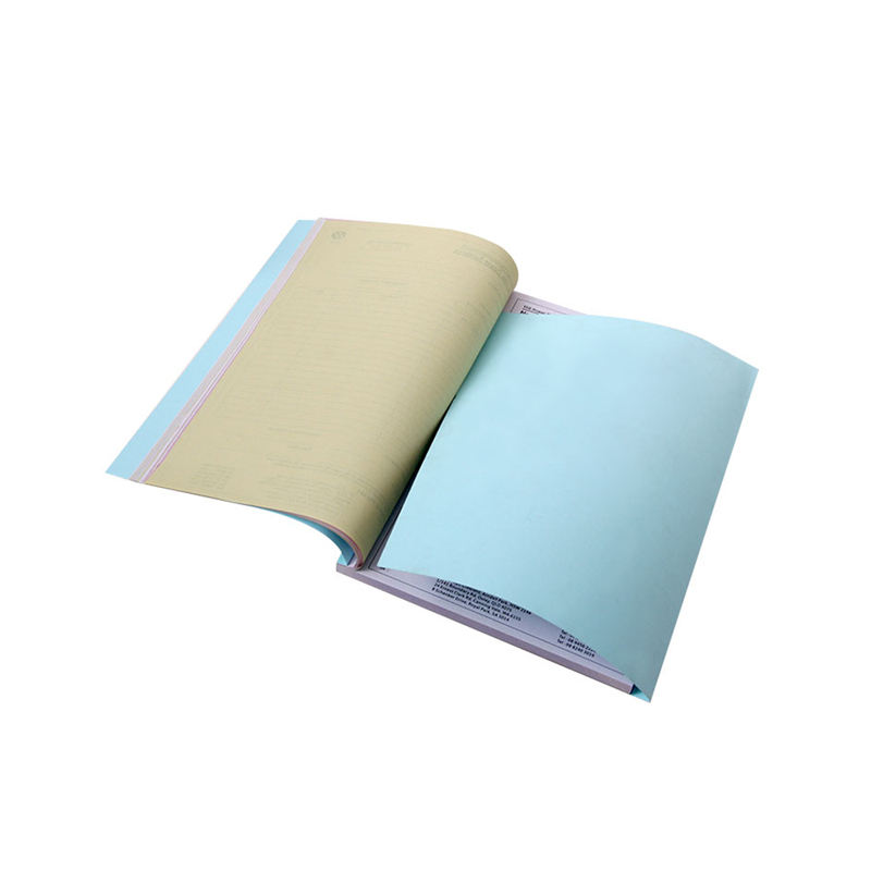 Manufacture factory eco-friendly cheap virgin wood pulp invoice book printing