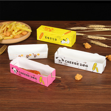Custom Printing High Quality Hemp Hot Dog Paper Box From China