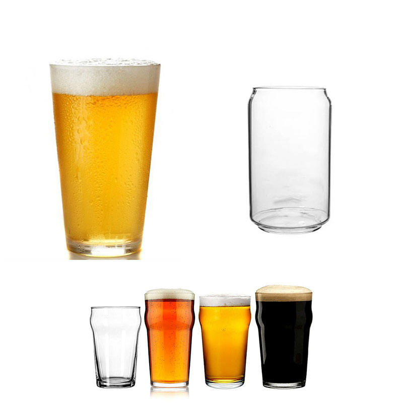 sublimation acrylic ipa reusable own branded beer glasses plastic clear cup custom logo frosted colored pint glass