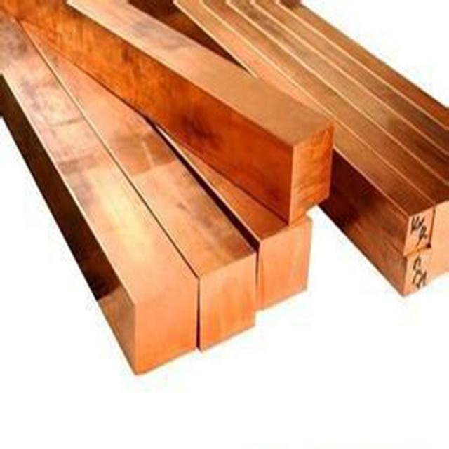 Professional copper square bar for wholesales