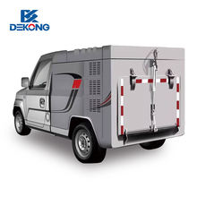 lithium battery mini electric van electric cargo truck for adult