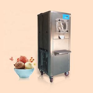 CE Approval Large Capacity 90L/H Floor Standing Gelato Hard Ice Cream Machine