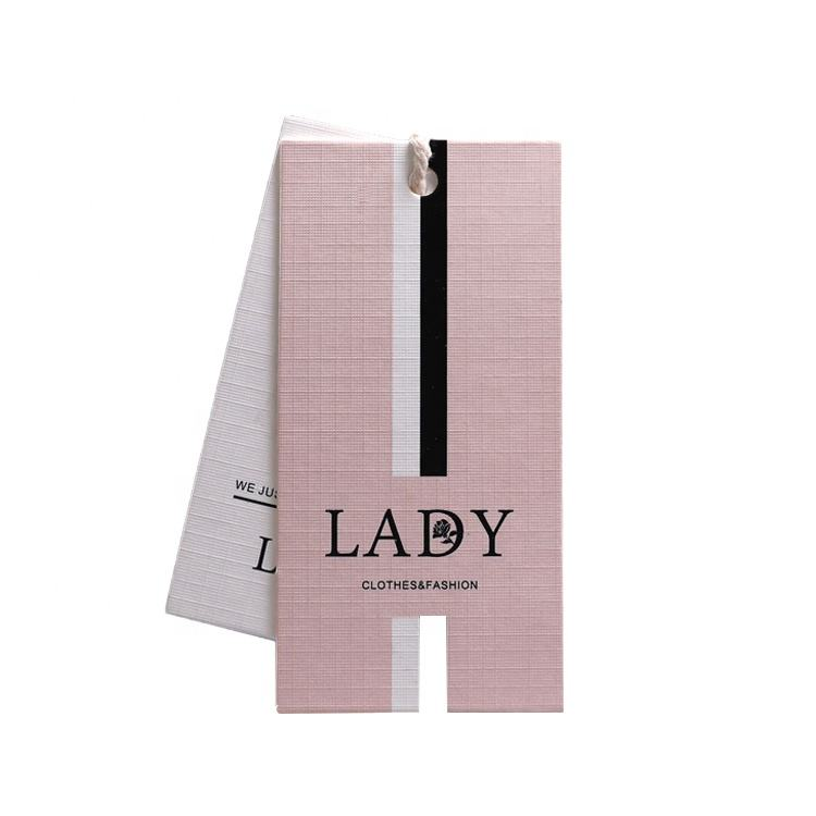 customized clothing tags clothes labels logos women's cards free design hang tags