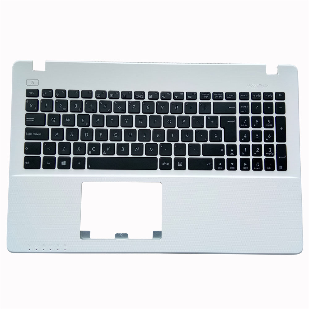 Manufacture laptop keyboard for ASUS X550 X550C X550CA X550CC X550CL X550D X550VL white frame C cover long cable