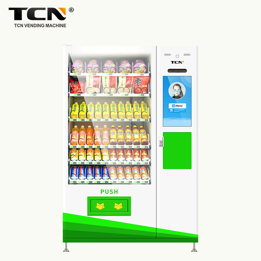 TCN D720-10C(22SP) TCN Automatic Touch Screen Drink and Snack Vending Machine