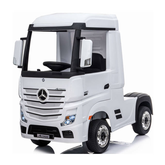 Kids Car Mercedes Benz Actros Trucks Toy Ride On Toys WIth Roof
