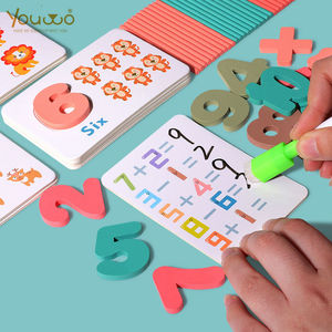 Reusable Kids Math Learning Educational Puzzle Toys for Children