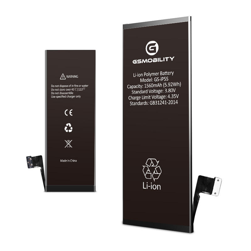 1560mAh OEM high quality cell phone new battery original for iPhone 5 5c 5s replacement