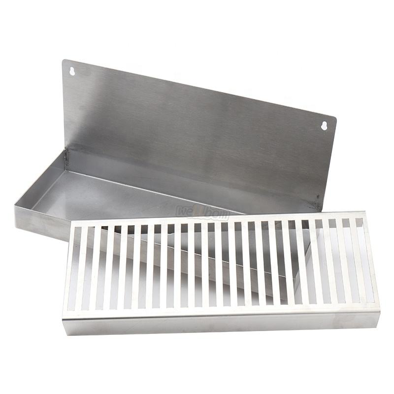 High Quality Custom Tap Beer Stainless Steel Drip Tray For Beer