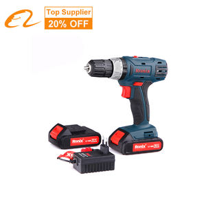2020 Ronix Free Battery Free EMC Box Hot Selling Power Craft Cordless 18V Screwdriver Driver Drill