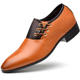 Ready to Ship Hot-selling Quality Wholesale PU Men Leather Shoes