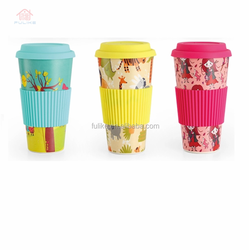 Melamine Mug Cup Baby Cup Bamboo Fiber Food Safety Modern Water and Coffee Cup with Different Size and Shapes