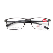 DILICN  Stock Metal Frame TR90 Temple Reading Glasses Popular Eyeglass Frame