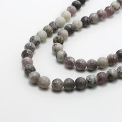Lilac Jasper Beads for Women's Jewelry Making