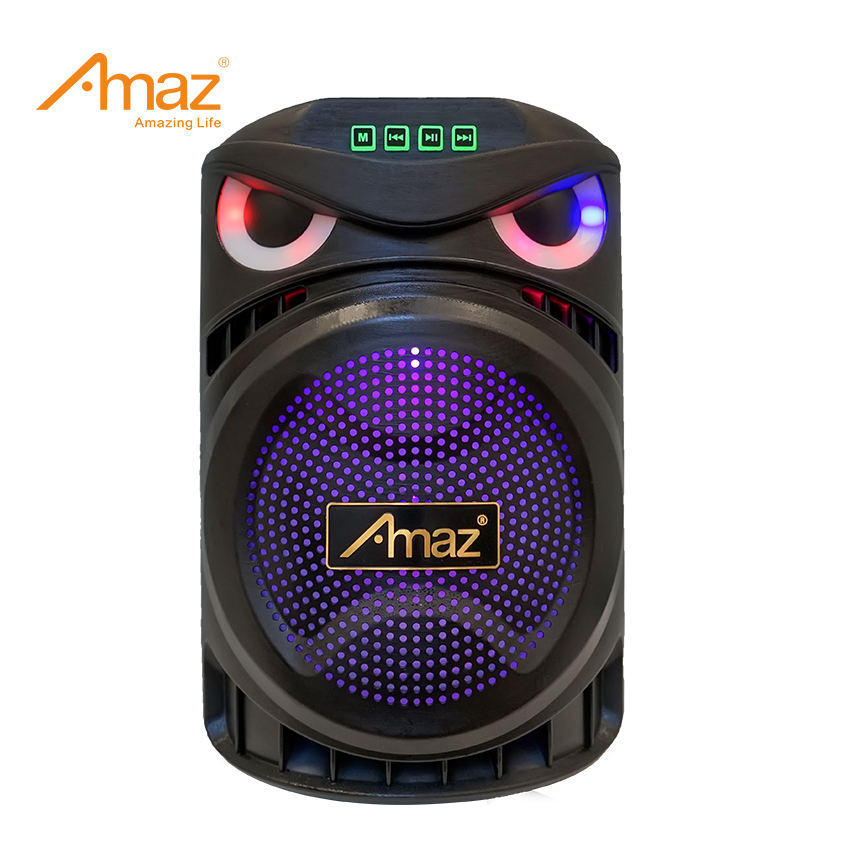 Amaz wholesale professional outdoor bluetooth wireless karaoke mic rechargeable battery 6 6.5inch kvg pa system trolley speaker