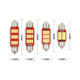Festoon 4014 31/36/39/41mm Canbus DC 12V Lighting color: White