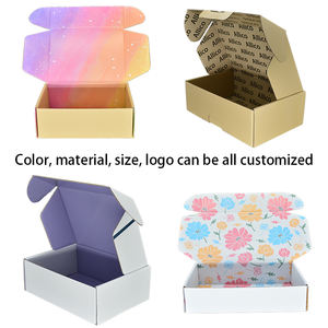 ALLICO Wholesale Recycled Corrugated Mailer Shipping Clothing Packaging Printed Apparel Boxes