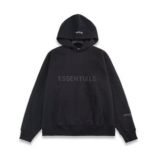 Cheap prices hoodie fear of god fog essentials logo type heavy cotton hoodie