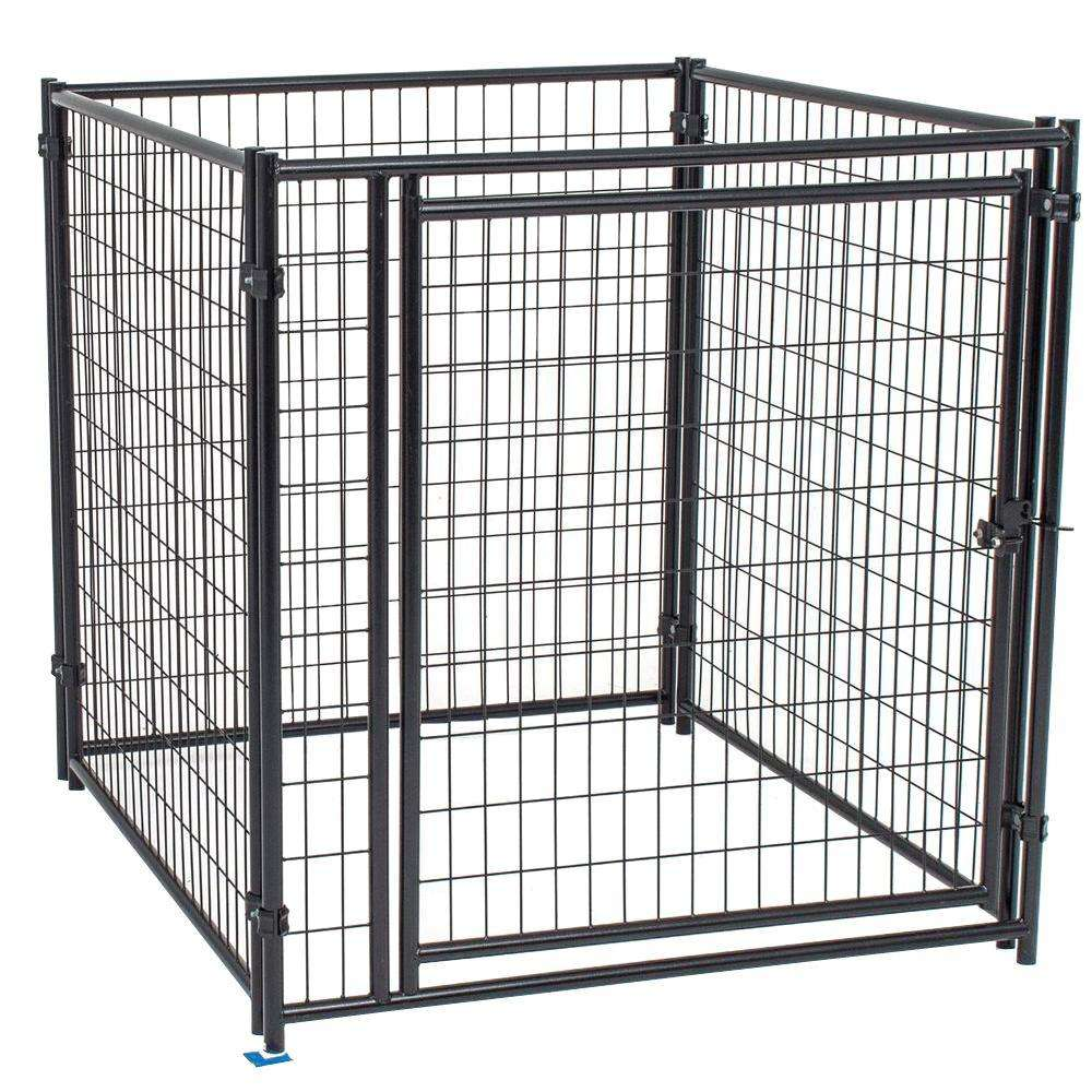 Large outdoor high quality low price galvanized dog cages/kennels/pet houses