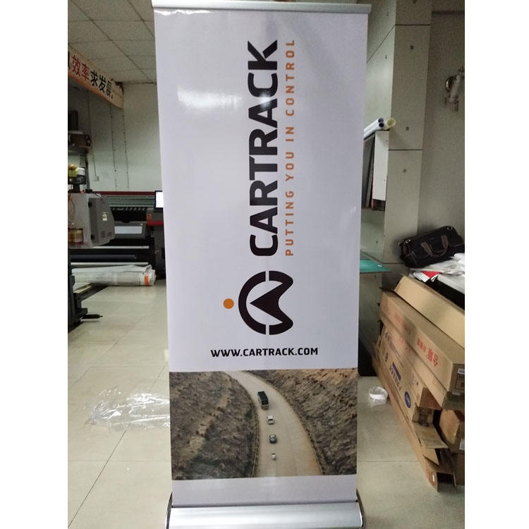 Good Quality Pop up Aluminium Wide Base Retractable Rollup Display