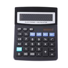 Hot Selling Big 16 Digits lcd Display Screen Solar Powered Office Desktop Calculator for Business Accountant