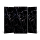 Black Collection High Gloss Full Polished Glaze Tiles for Floor