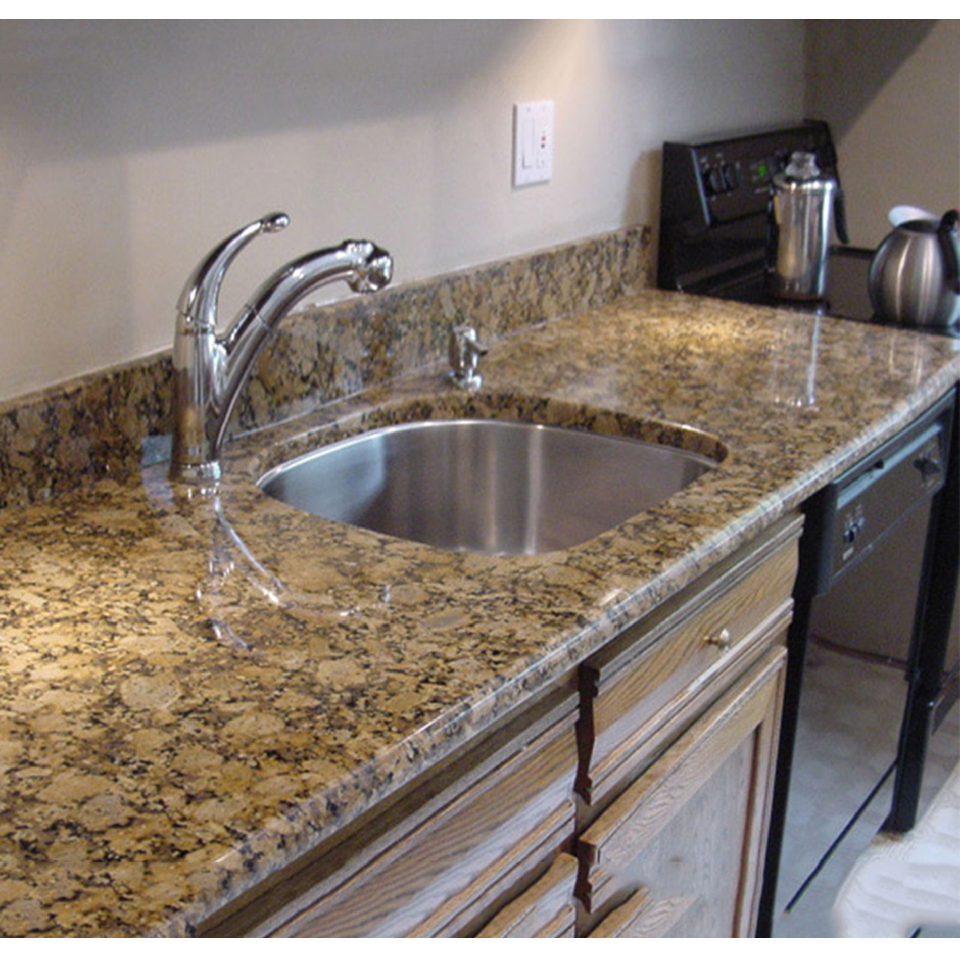 delicatus imperial brazil gold granite slab countertop