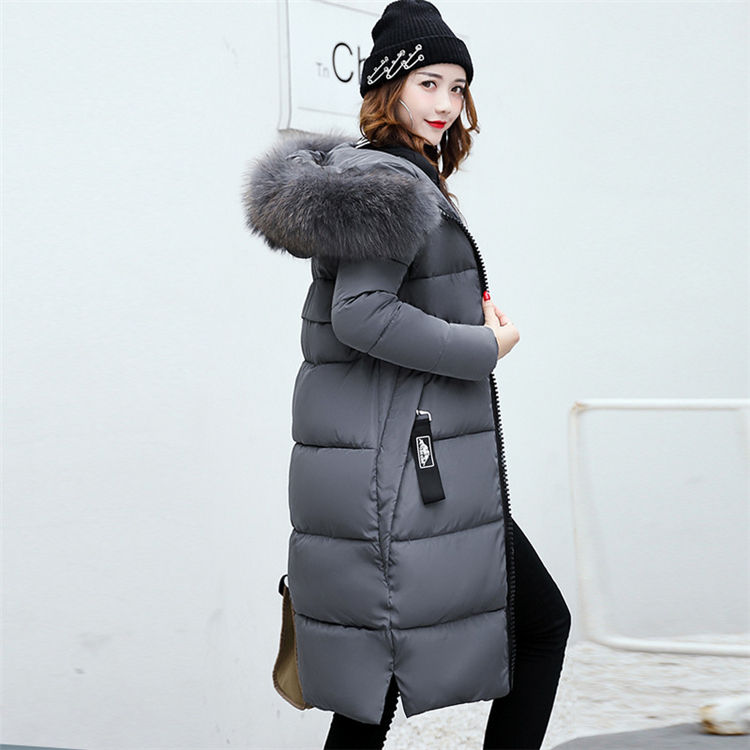 2019 New Black Fashion Winter Women's Jacket Thickening Parkas Female Warm Winter Coat Hooded Women Outerwear