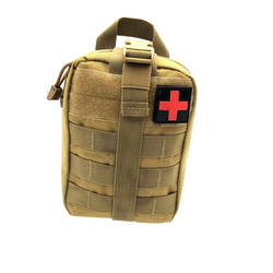 Military Tactical Molle EMT Medical First Aid IFAK Pouch Bag for Outdoors