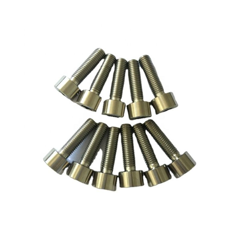 DIN912 Gr5 Titanium socket head screws and bolts bicycle