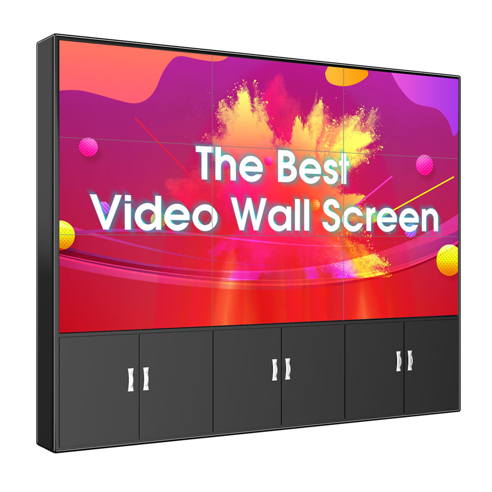 "4K samsung LG cheap price 55"" panel mount 3x3 processor videowall controller advertising screen DID display LCD video wall"