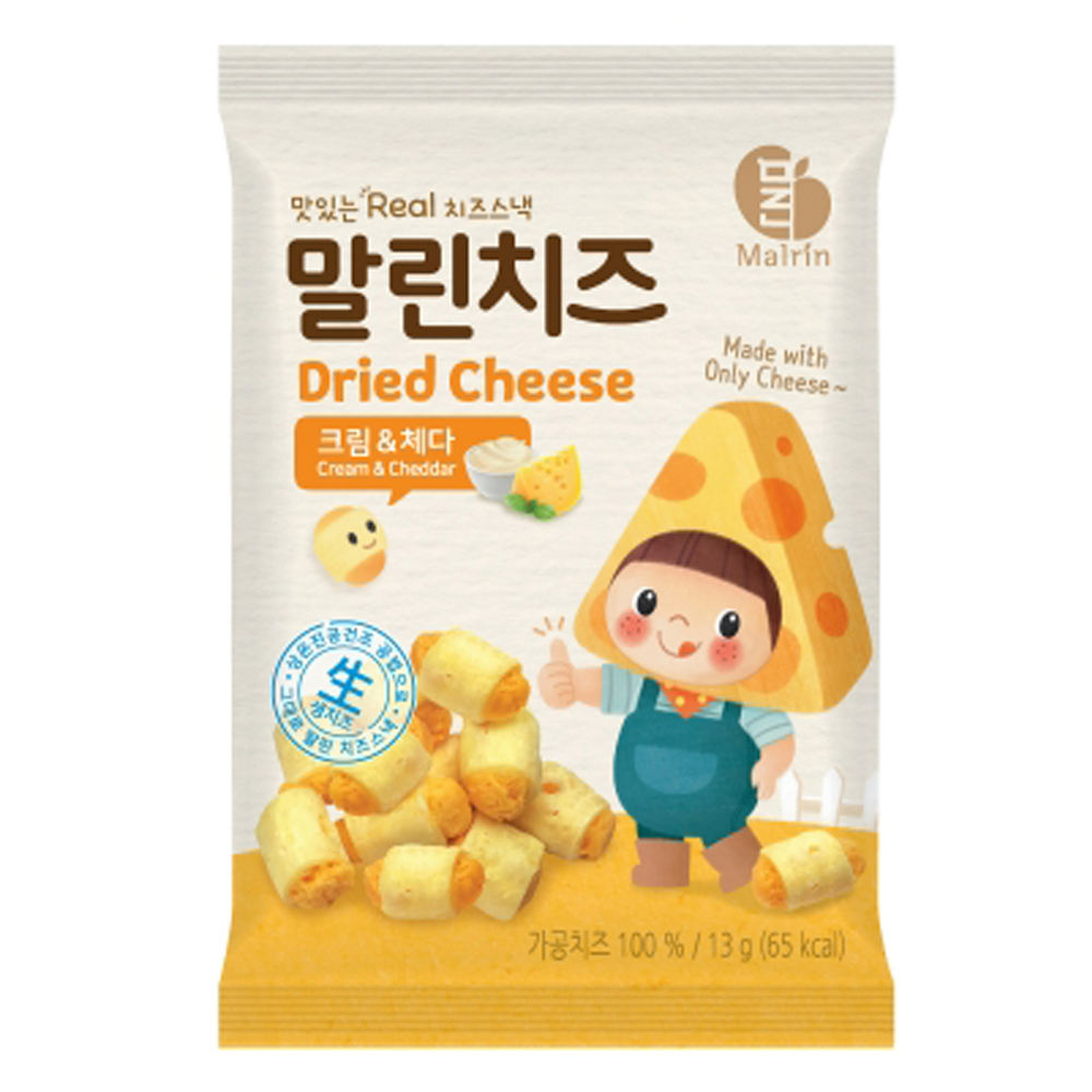 Dried Cheese Easy to Eat Snacks for Whole Family Various Type and Flavors 14 EA