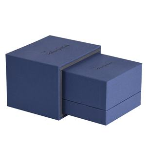 Luxury custom jewelry Ring packing box led light Ring box case