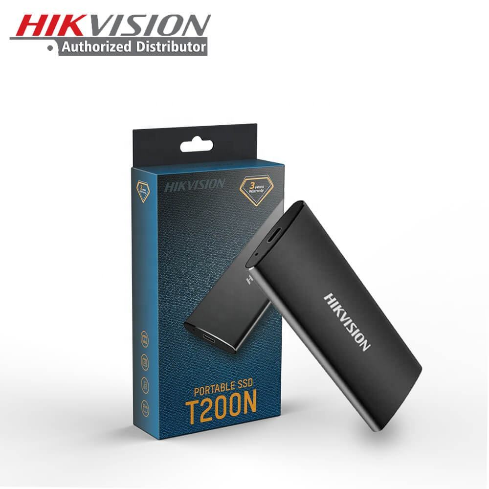 Hikvision OEM T200N Black Type-C USB 3.1 Disk HD Hard Drive Solid State Disco Duro 120GB 240GB 480GB Mini External Portable SSD