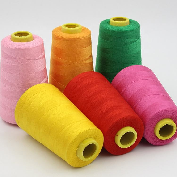 100% polyester Sewing thread 40/2 5000yards high quality