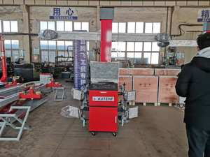 High quality car 3D wheel alignment equipment with box/wheel alignment and balancing machine