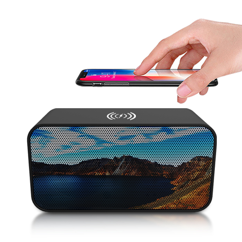 Top Seller for Amazon 2020 Bluetooth Speaker with Wireless charger for phone 2in1