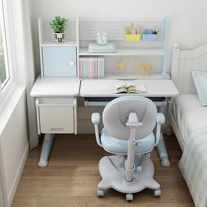 SIHOO Double-layer Desk and Extra Large Storage Space Children's Study Desk